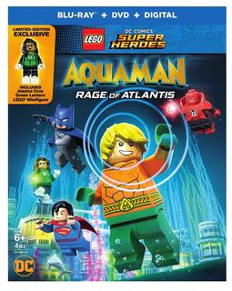 Blu-ray : Lego Dc Super Heroes: Aquaman: Rage Of Atlantis...