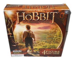 The Hobbit Wizkids Heroclix Un Viaje Inesperado 4 Figuras ++