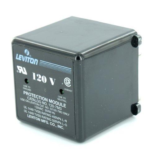 Leviton 120 7m3 120 Vac 50 60 Hz Max Continuous Voltage