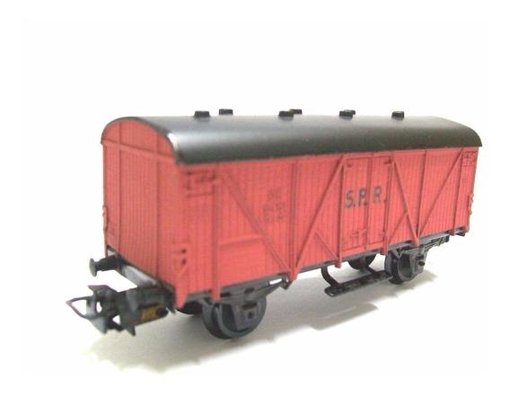 Vagão Box Antigo - São Paulo Railway - Perez Ferromodelismo