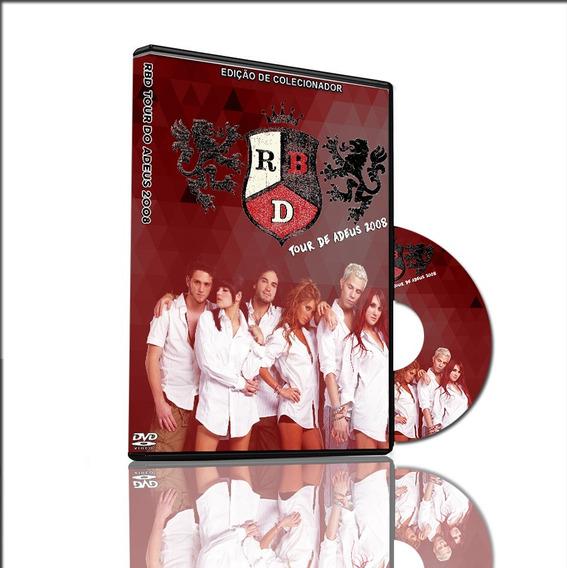 Dvd Rebeldes Rbd Tour Do Adeus Ao Vivo 2008