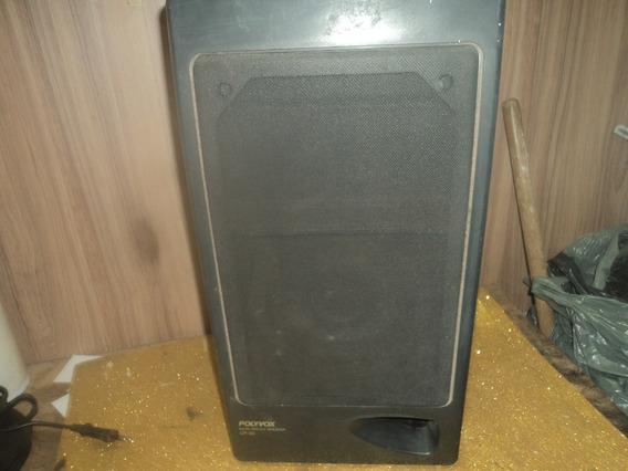 Caixa Antigo Grande Som Pra Vitrola/pvc 50cnt Polyvoxcp 33