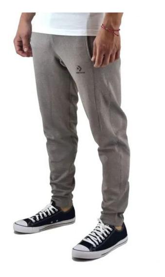 Pantalon Converse Wordmark Corey Pants - Gris -d1514816