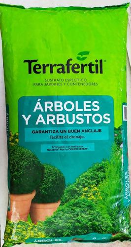 Terrafertil  Sustrato Arboles Y Arbustos 20lts
