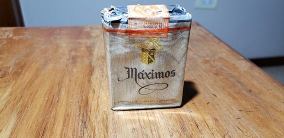 Paquete De Cigarrillos Maximos