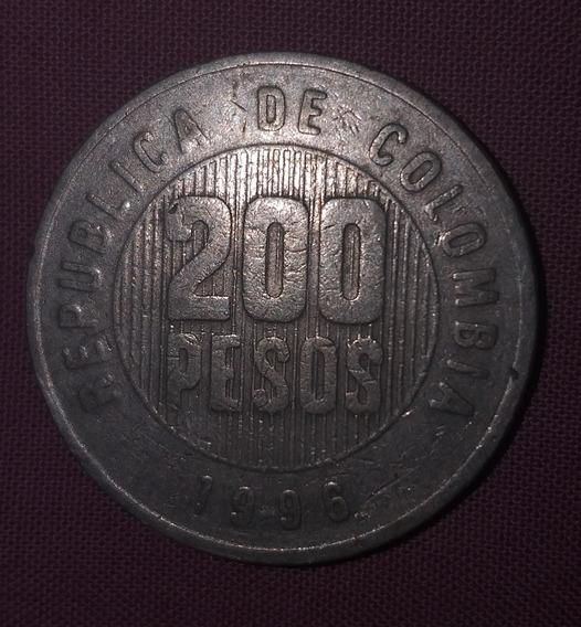 200 Pesos Colombianos 1996