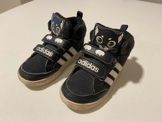 Zapatillas adidas Gatito Talle 23.5 / 24 De Chicos Usada