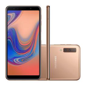 Smartphone Samsung A7, Cobre, A750g,