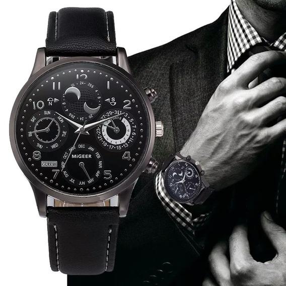 Relógio Masculino Migeer Quartzo