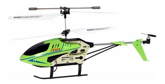 Helicóptero Controle Remoto Fênix 3 Canais Com Giroscópio
