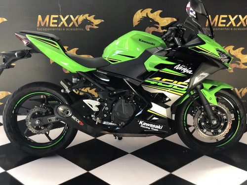 Escapamento Esportivo Kawasaki Ninja 400 Taylor Made 17/19