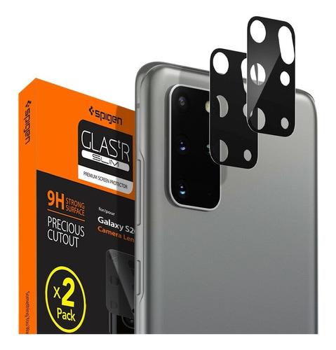 Vidrio Templado Camara Trasera Spigen Full Cover S20 Plus X2