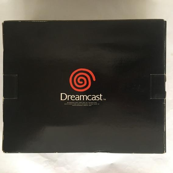 Dreamcast R7 Sega Regulation 7 - Na Caixa Completo + 3 Jogos