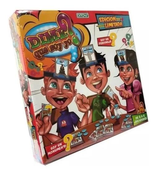 Juego De Mesa Dime Que Soy Yo 87 Pz Infantil Original Ditoys