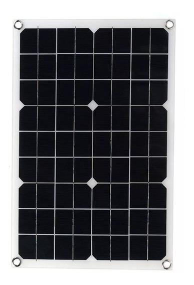 Painel Placa Solar Fotovoltaica Off Grid 20w