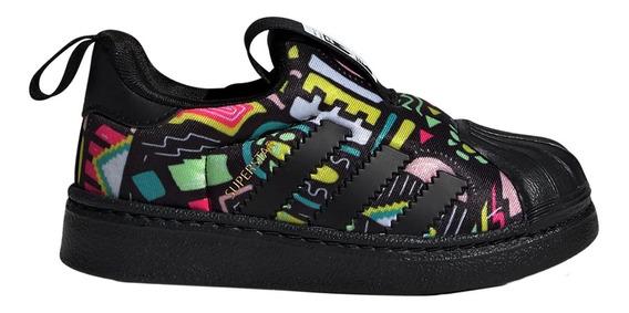 Zapatillas adidas Originals Moda Superstar 360 I Bebe Ng/am