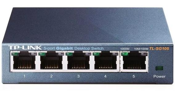 Tp-link Switch 5 Puertos Gigabit Tl-sg105