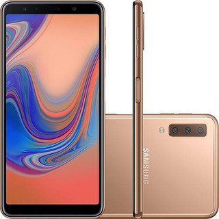 Smartphone Samsung Galaxy A7 64gb Dual Chip Cobre