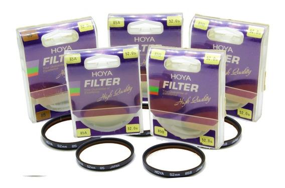 Kit 10 Filtros Hoya Original - Monte Seu Kit