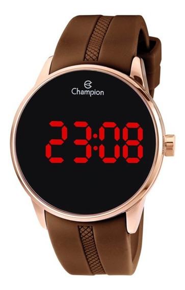 Relógio Unissex Champion Digital Ch40188z - Rosê