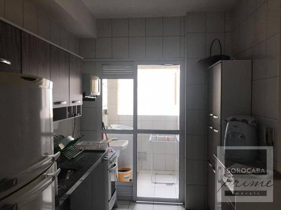 Apartamento Com 2 Dormitórios Para Alugar, 78 M² Por R$ 2.700/mês - Condomínio Vitrine Esplanada - Votorantim/sp - Ap0210