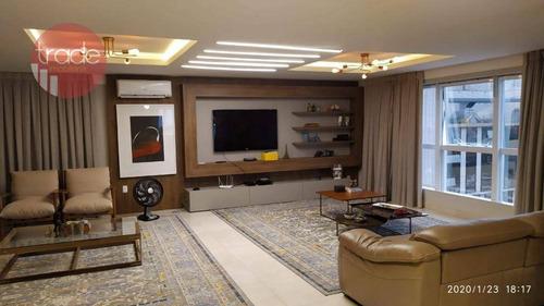 Cobertura Com 3 Dormitórios À Venda, 316 M² Por R$ 2.700.000,00 - Jardim Botânico - Ribeirão Preto/sp - Co0138