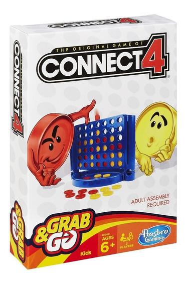 Promoção Jogo Connect4 Grab&go Hasbro Original