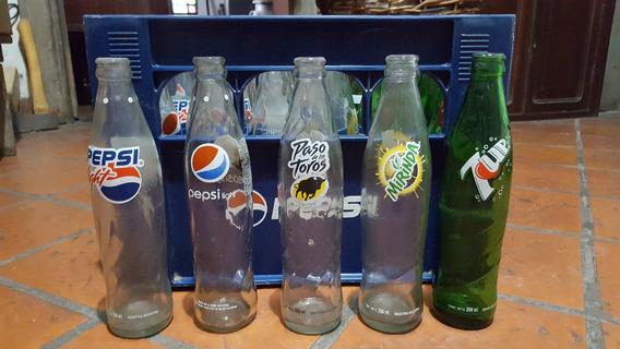 Antiguas Botellas De Gaseosa