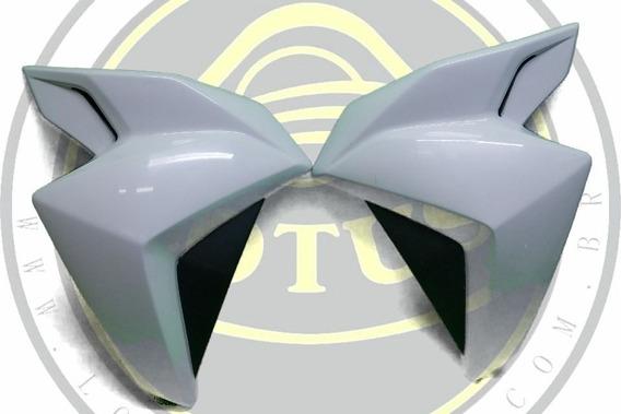 Par Aba Carenagem Do Tanque Branca Dafra Next 250 300 Fibra Lotus Com Nota