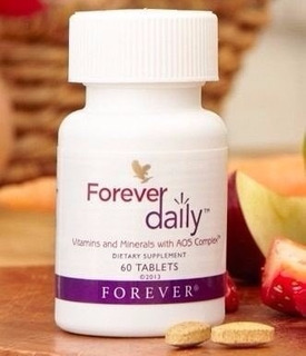 (kit C/02 Un) Forever Daily Sup Vitamínico Mineral- 60 Tab
