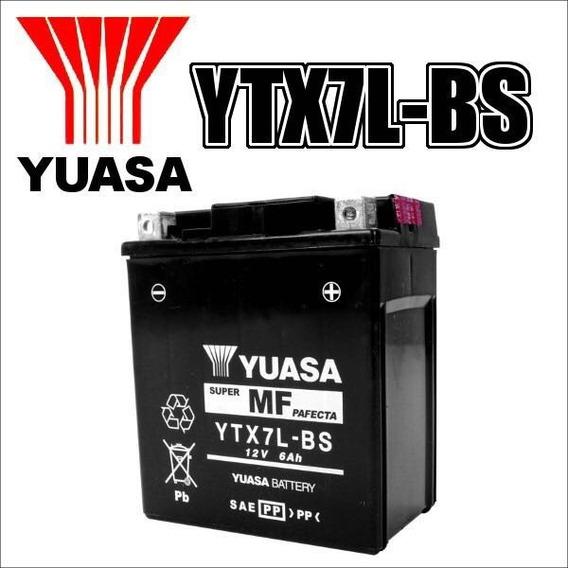 Bateria Yuasa Honda Cb 300r 2013 2014 Original Yuasa Ytx7lbs