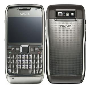 Nokia E71 Preto - Só Funciona Vivo - 3mp Symbian De Vitrine