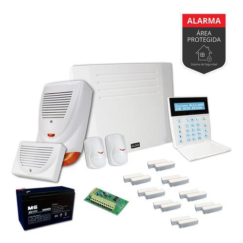 Alarma Para Casa Quinta Sensor Magnético Kit - Cableado