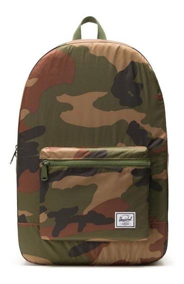 Mochila Herschel Packable Daypack Woodland Camo Unisex