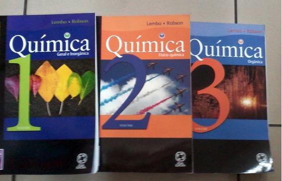 Quimica Vol 1 2 E 3 Lembo E Robson