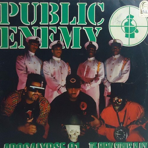 Public Enemy 1991 Apocalypse 91 The Enemy Strikes Black Lp