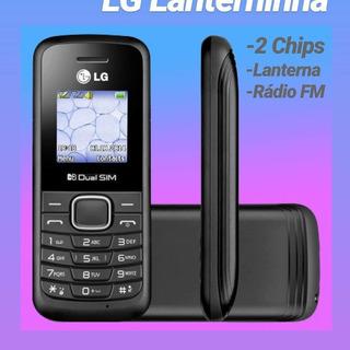 Celular Lg B220 Dual Sim Original Fm Lanterna Novo