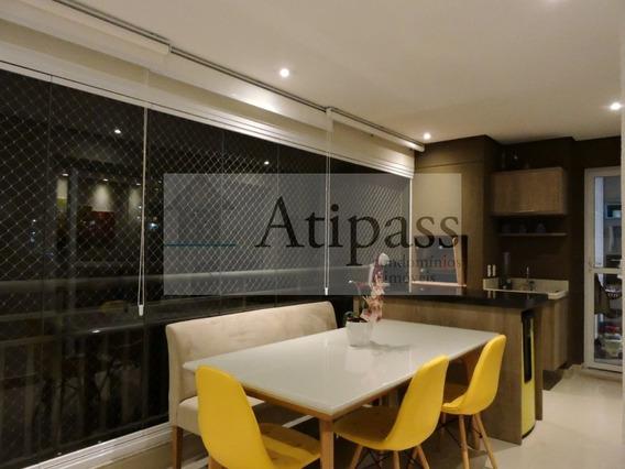 Apartamento - Venda - 116m² São Bernardo, Baeta Neves - 3 Suítes, Mobiliado, 2 Vagas- Lazer Completo - At909