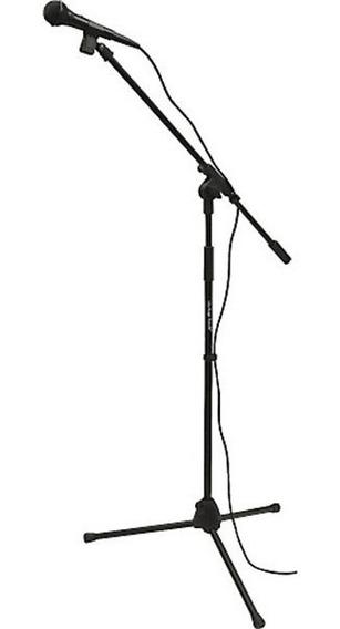 Pedestal Con Microfono Y Con Boom