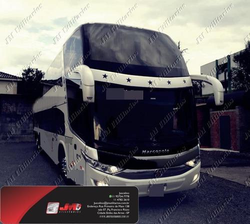 Paradiso 1800 Dd G7 Ano 2014 Scania K400  Jm Cod 143