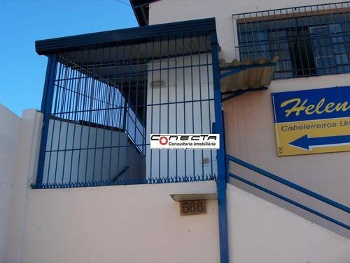 Salão Para Alugar, 180 M² Por R$ 2.000/mês - Vila Pompéia - Campinas/sp - Sl0186