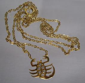 Colar Gargantilha Ouro Brilhantes 6 Ptos -12 X F Grátis 107