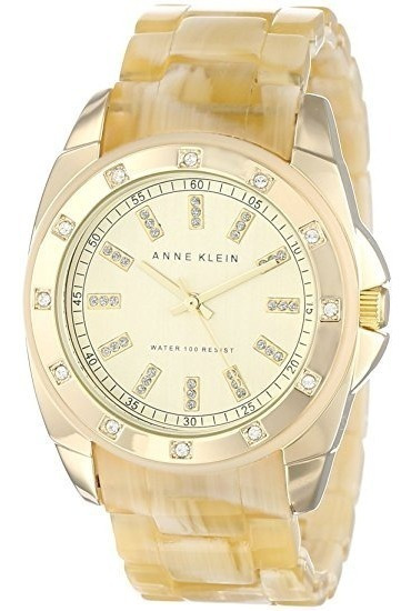 Relógio Anne Klein Swarovski Cristal - Original