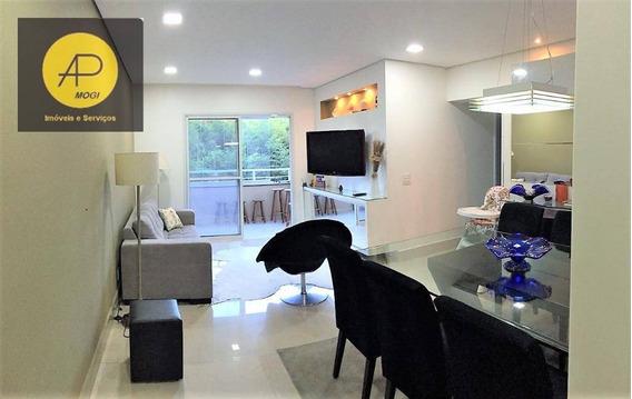 Apartamento À Venda E Locação, 90 M² - Vila Oliveira - Mogi Das Cruzes/sp - Ap0136