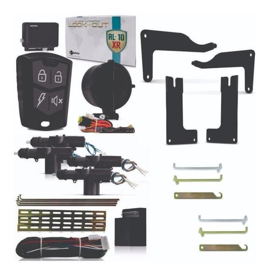 Kit Alarme Com Trava Elétrica 4 Portas Vw Gol G2 G3 G4