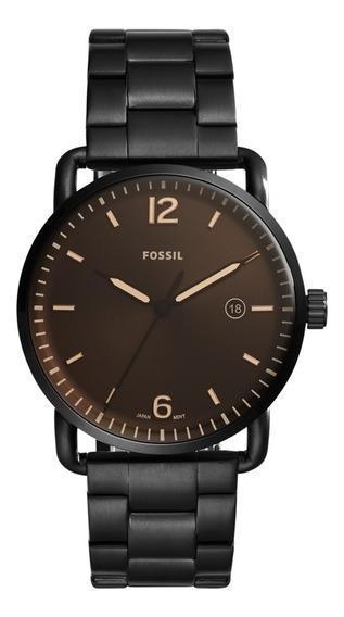 Relógio Fossil Masculino Commuter The 3h Date Fs5277/4mn