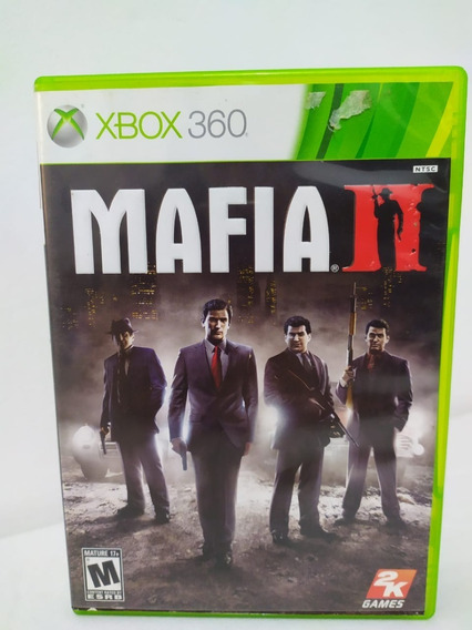 Jogo Mafia 2 Original Xbox 360 Mídia Física 0056