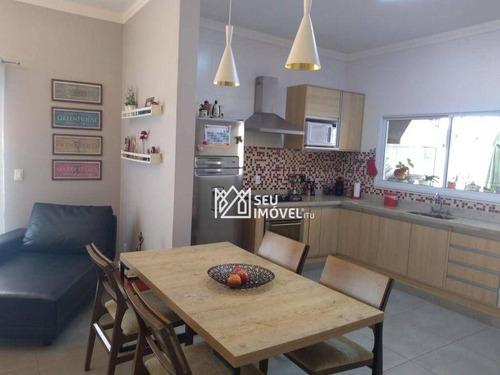 Casa Com 3 Dormitórios À Venda, 255 M² Por R$ 905.000,00 - Condomínio Palmeiras Imperiais - Salto/sp - Ca2244