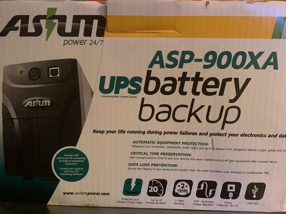 Ups Asp 900xa Battery Backup Asium