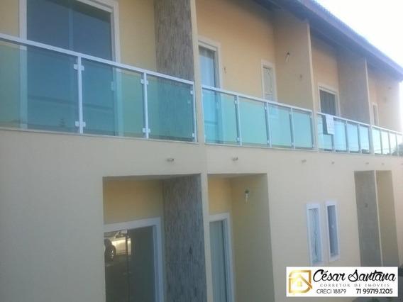 Casa Em Condomínio Jauá Camaçari - Ca00338 - 32889775